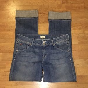 Hudson Beth Baby Boot Cuffed Jeans Glad wash